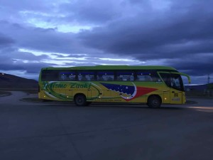 Muoversi in Cile con bus