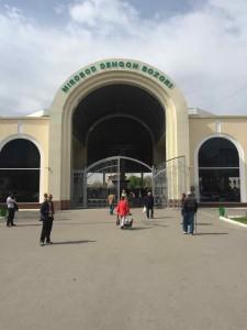 Uzbekistan viaggio - Il Bazar Mirobod a Tashkent