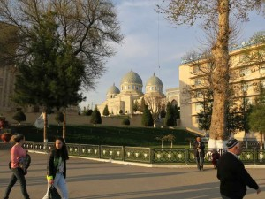 Tashkent cosa vedere - Moschea Jami