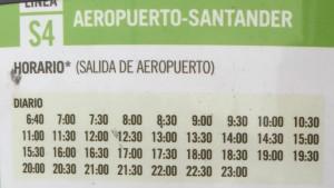 Gli orari dei bus per la città di Santander