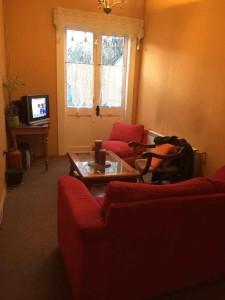 Punta Arenas ostelli - La sala tv