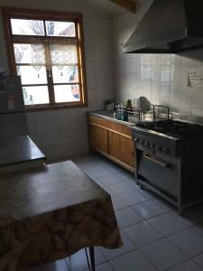 Punta Arenas ostelli - La cucina