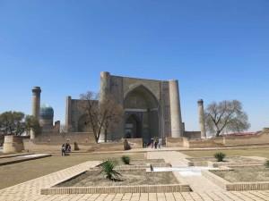 Uzbekistan Samarcanda - La Moschea di Bibi Khanym