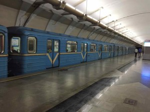 Tashkent trasporti - Le carrozze delle metro
