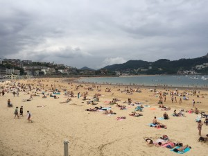 San Sebastian cosa vedere - La spiaggia della Concha