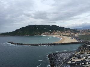 San Sebastian cosa vedere - La spiaggia della Zurriola