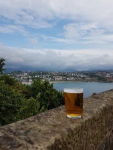 San Sebastian cosa vedere - In cima al monte Urgull