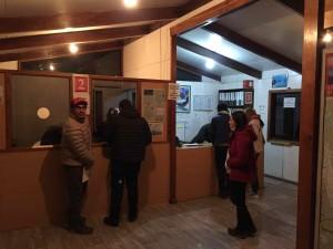 Torres del Paine Trekking - La biglietteria del parco