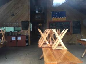 Parco del Paine ristoranti - L'interno dei Refugios
