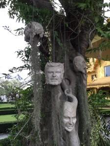 thai mask albero