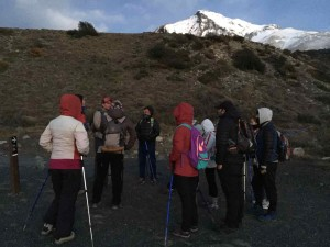 Torres del Paine Trekking - Il breafing prima di partire