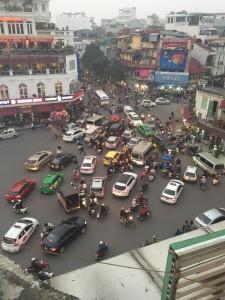 Vietnam moto da pazzi - Il traffico a Hanoi