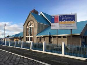 Porvenir Cile - La chiesa