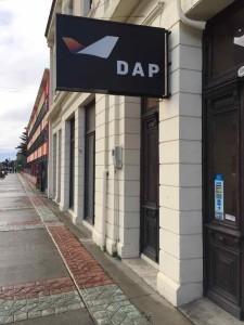 Punta Arenas trasporti - L'entrata della compagnia DAP che gestisce i voli per l'Antartide