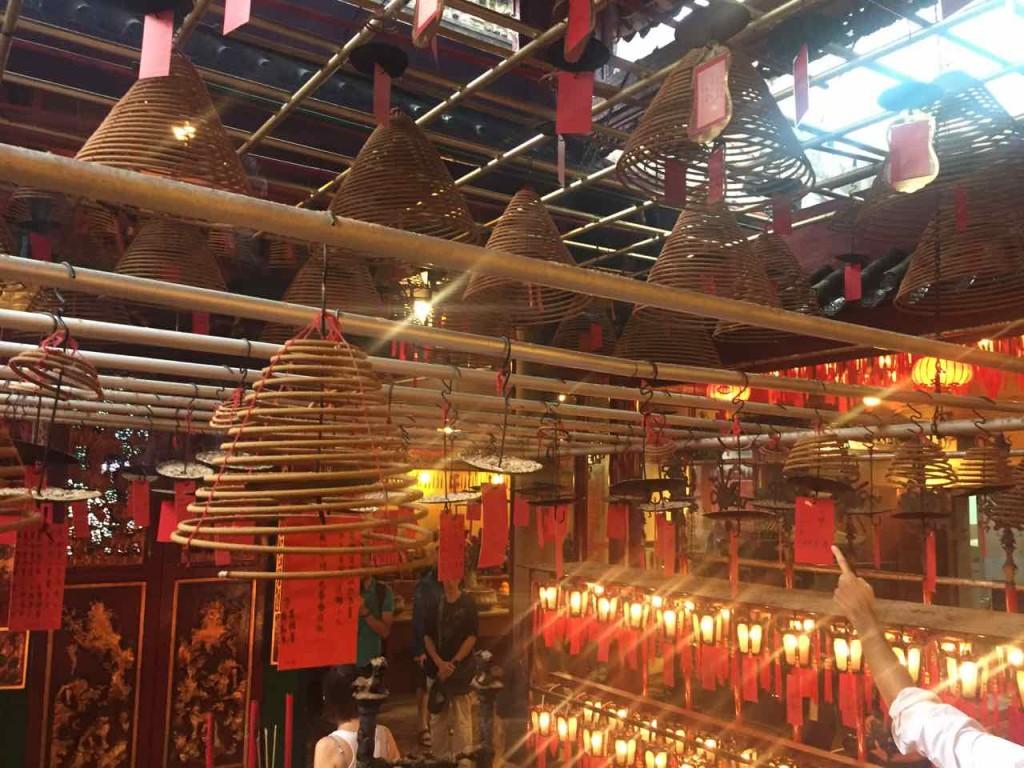Hong Kong Religione - Il Tempio Man-Mo