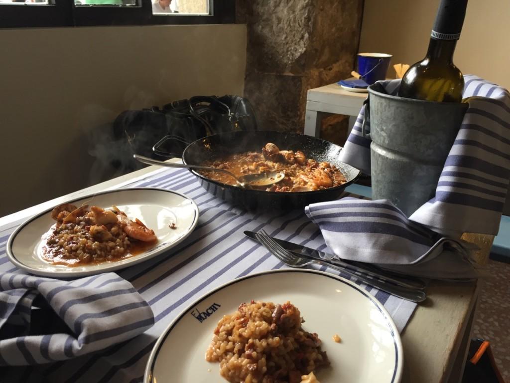 """I piatti del ristorante """"El Machi"""""""