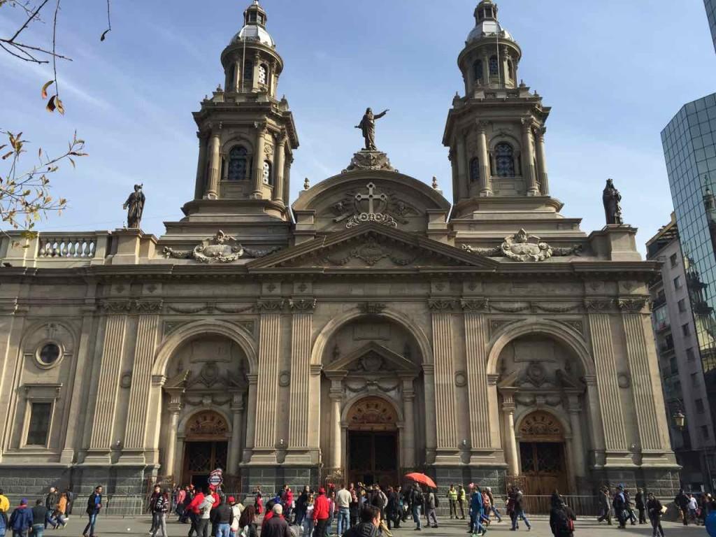 Santiago del Cile cosa vedere - La Cattedrale