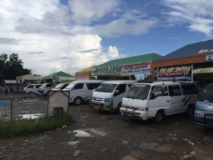 Palawan informazioni - La stazione dei bus di Puerto Princessa