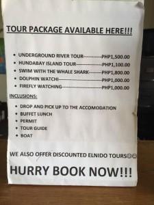 Palawan cosa vedere - Alcune delle escursioni che si possono fare da Puerto Princessa