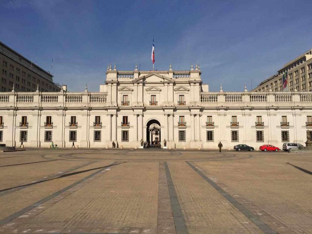 Santiago del Cile cosa vedere - La Moneda