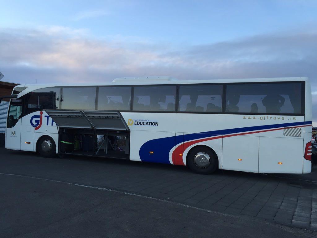 Come spostarsi in Islanda con autobus