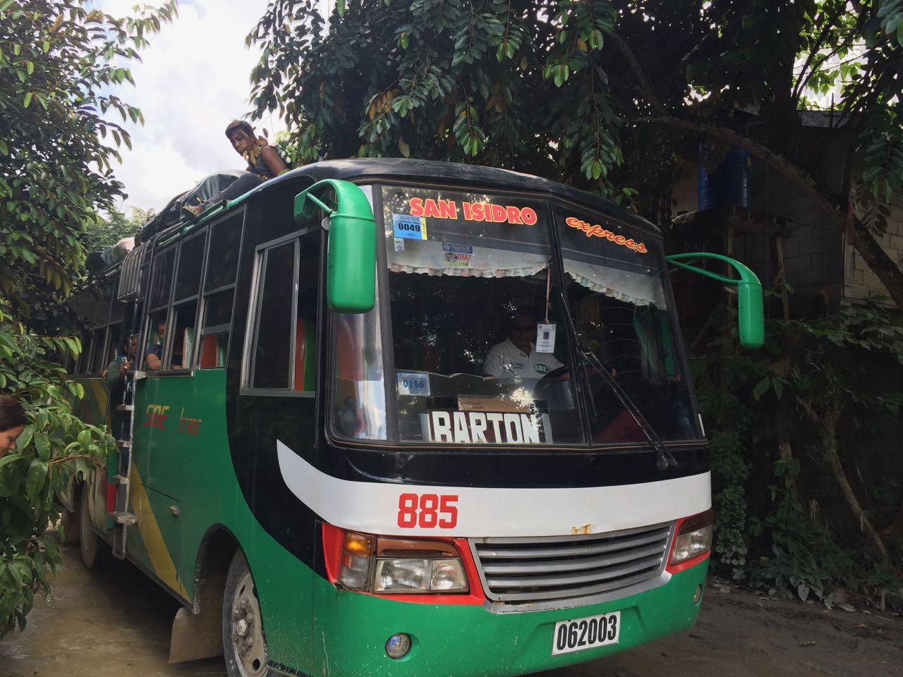 FILIPPINE Trasporti interni - Come muoversi nelle Filippine con i bus