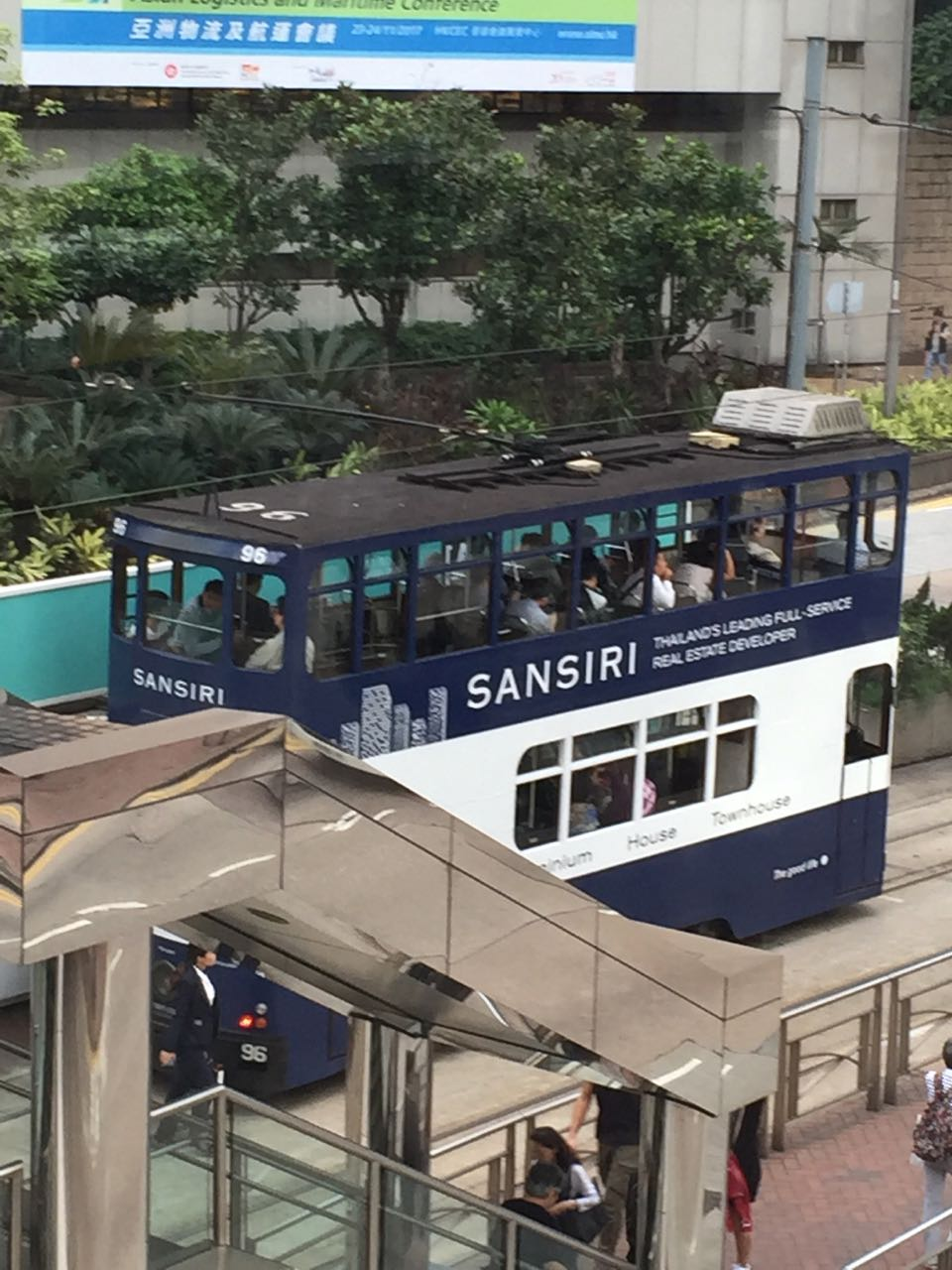 Tram a Hong Kong