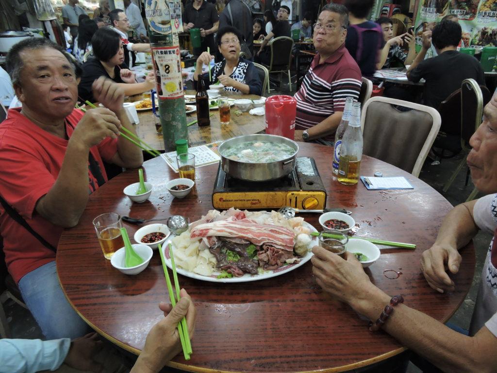 Woosung Street Temporary Cooked Food Hong Kong