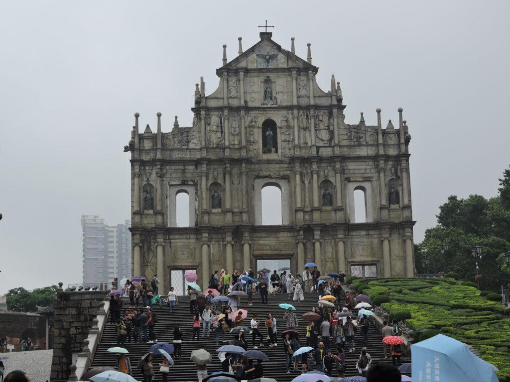 Macao cosa vedere - La basilica di San Paolo