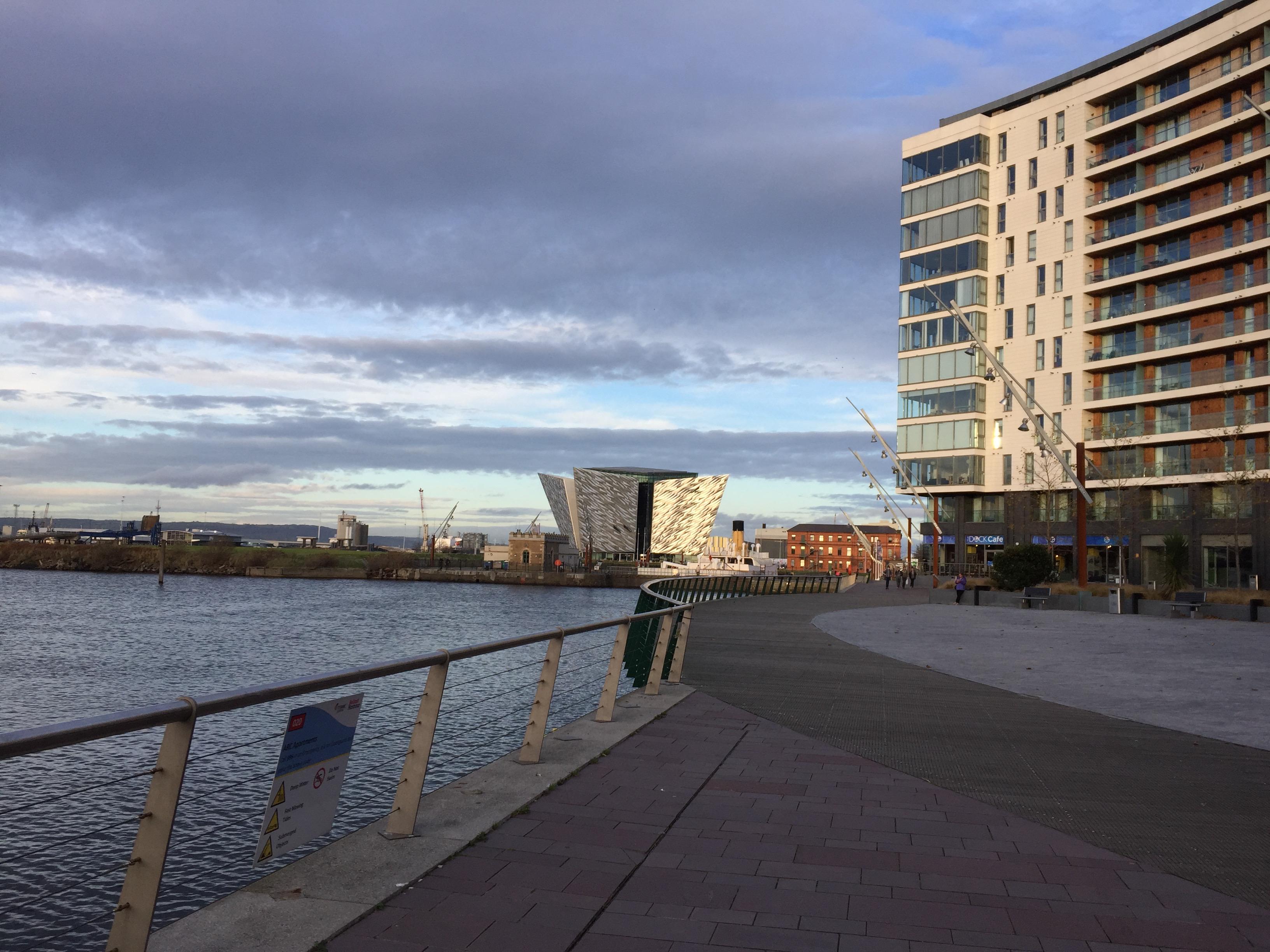 Diario del giorno a Belfast