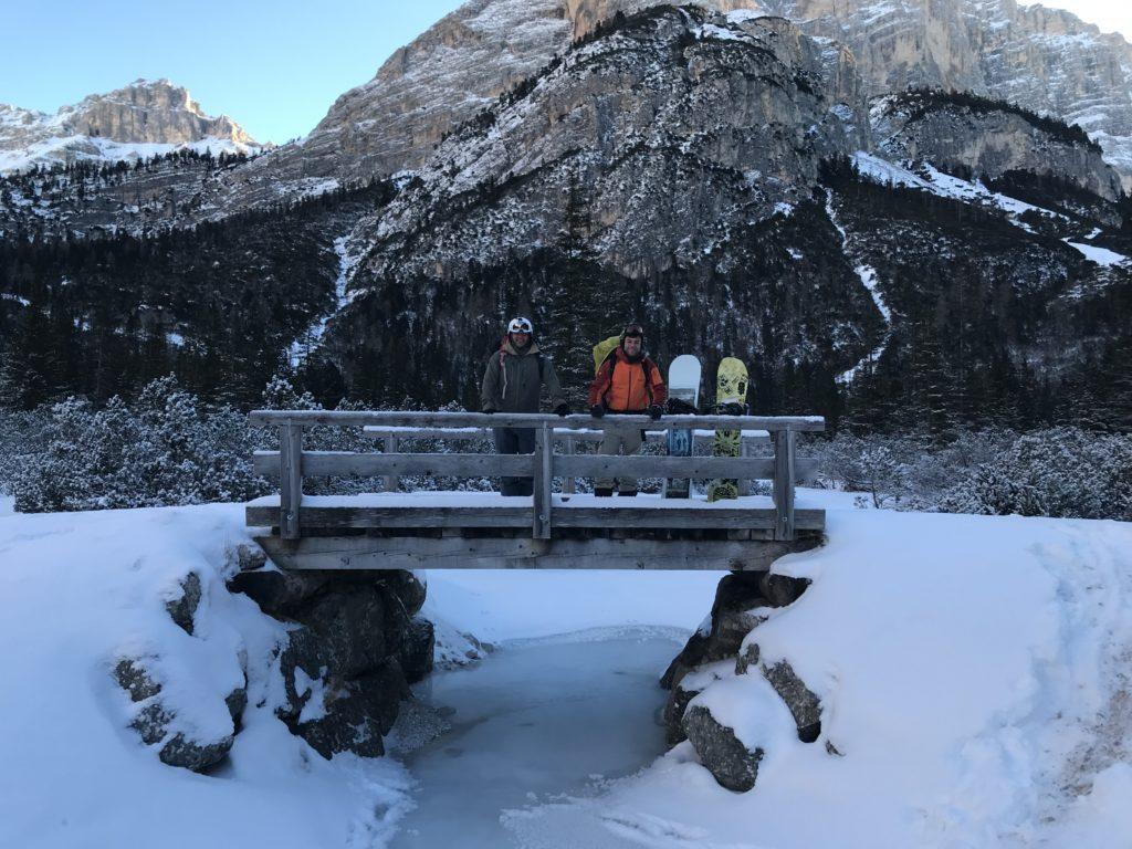 Il viaggio tra le baite in snow