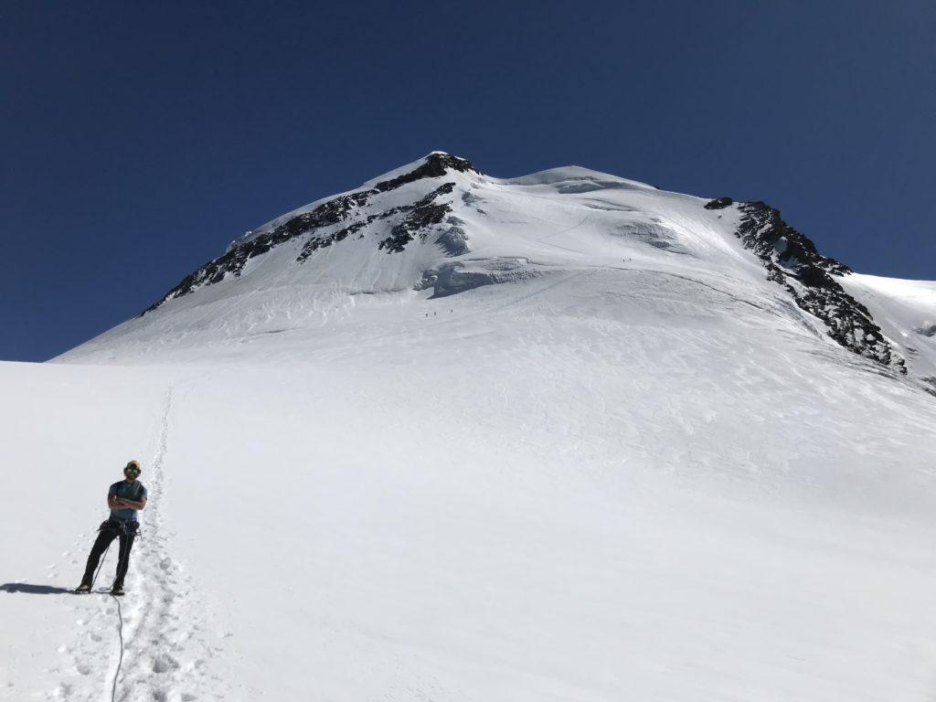 La traversata del Castore - L'ascesa dal Felik e la discesa dal Verra